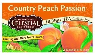 Herb Tea, Country Peach Passion, 20 bag ( Triple Pack) Blackberry Passion Fruit Tea
