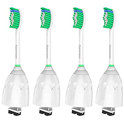 Aoremon Sonicare Replacement Heads for Philips Sonicare E Series HX7022/66 (4 Pack), Fit Sonicare Essence, Xtreme, Elite, Advance, and CleanCare Electric Toothbrush with Hygienic Caps - 4033844 , B075TZB5MB , 454_B075TZB5MB , 16.97 , Aoremon-Sonicare-Replacement-Heads-for-Philips-Sonicare-E-Series-HX7022-66-4-Pack-Fit-Sonicare-Essence-Xtreme-Elite-Advance-and-CleanCare-Electric-Toothbrush-with-Hygienic-Caps-454_B075TZB5MB , usexpres