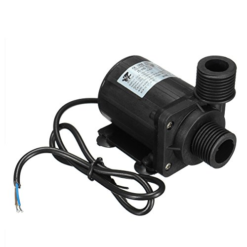 IP68 DC12V 5M 800L/H Ultra Quiet Brushless Motor Submersible Pool Water Pump by BephaMart