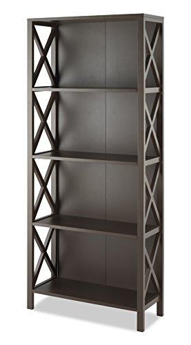 Whitmor Whitmor 6424-7932-ESPR-BB 4 Shelf Bookcase - Espresso price tips cheap