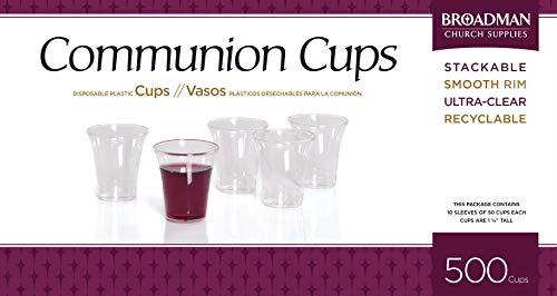 - Communion Cups Disposable - 500 Ct