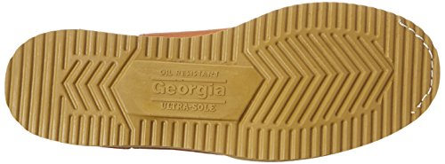 Georgia Boot Men's 12'' Wedge Wellington Work Boot,Barracuda Gold,8.5 W by Georgia (Image #3)