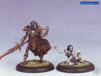 Iron Kingdoms Miniatures: Lord Vyros Iosan Eldritch & Sythyss Servant