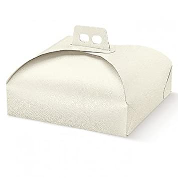 Dalbags – unidades 3 caja porta tartas de cartón – para transportar pasteles, tartas etc