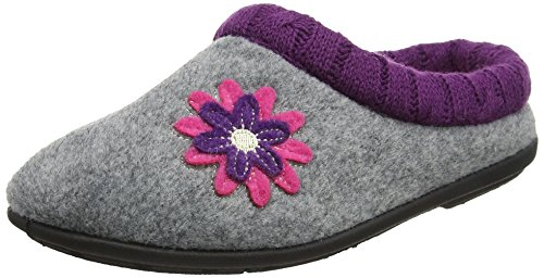 Padders Rose Chaussons Combi 97 Freesia Gris Bas Grey Femme URTpxUq
