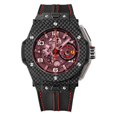 Hublot Big Bang Ferrari Magic Carbon Limited Edition of 1000 Pieces - 401.qx.0123.vr