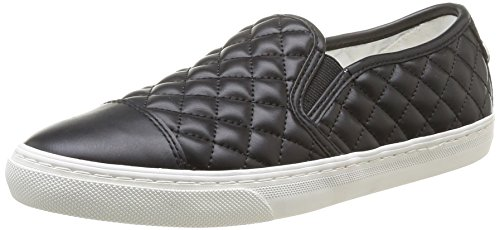 Geox Womens D New Club 12 Fashion Sneaker Nero