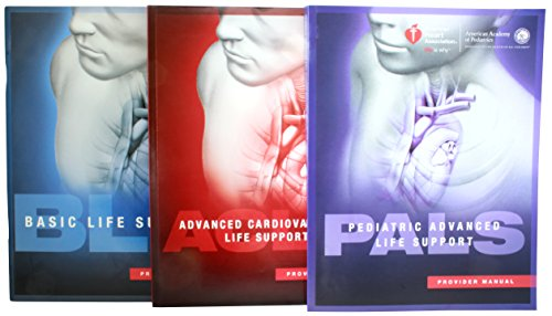 Provider Manual Bundle 2015 Guidelines - Basic Life Support (BLS) Advaned Cardiovascular Life Support (ACLS) Pediatric Advanced Life Support (PALS) w/ Reference ()