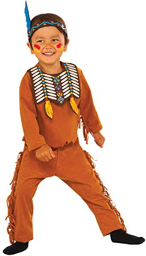 Boy Costume Scout Accessories (Rubie's Costume Indian Scout Value Child Costume,)