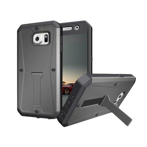 E8Q Prima funda de protección a prueba de choques a prueba de agua para Samsung Galaxy Note5 gris