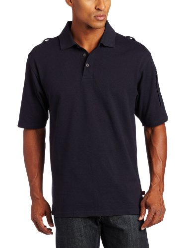 Woolrich Men's Elite Tactical Short Sleeve Polo (Navy, Small)