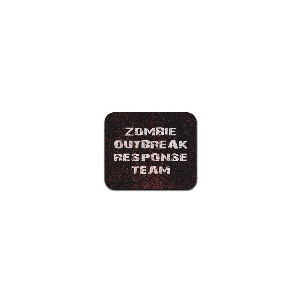 Zombie Outbreak Response Team Mousepad Mouse Pad