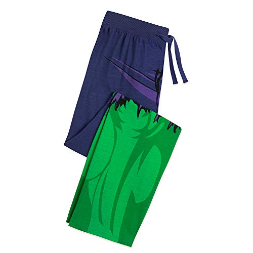 Marvel Hulk Costume Lounge Pants for Men Size Mens S Multi ()