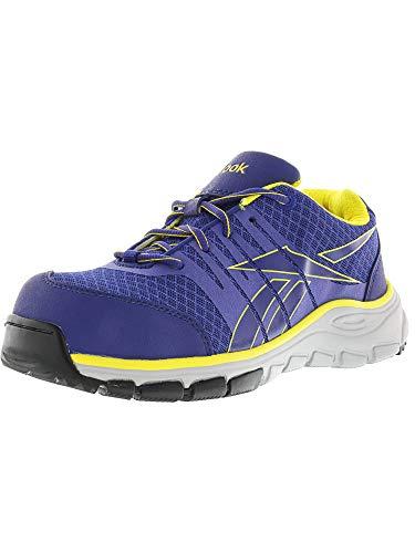 Rb457 Seguridad yellow Sin Zapatos Reebok Pãºrpura Fisuras Purple De w1PTnIxqSO