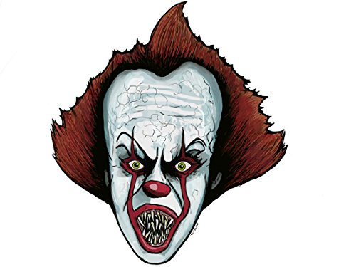 Pennywise IT Sticker. ()
