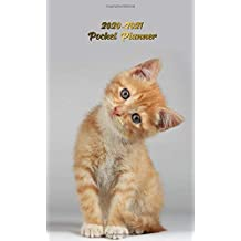 2020-2021 Pocket Planner: Cute Little Kitten Two-Year Monthly Pocket Planner with Phone Book, Password Log and Notebook. Nifty 2 Year (24 Months) ... Calendar and Organizer - Pretty Cat Love