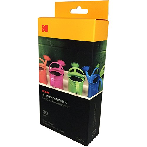 Kodak mini photo printer cartridge pmc -all-in-one paper ...