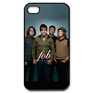 American Pop Punk Band Fall Out Boy White For Apple Iphone 4/4S Case Cover , Fall Out Boy For Apple Iphone 4/4S Case Cover Mod