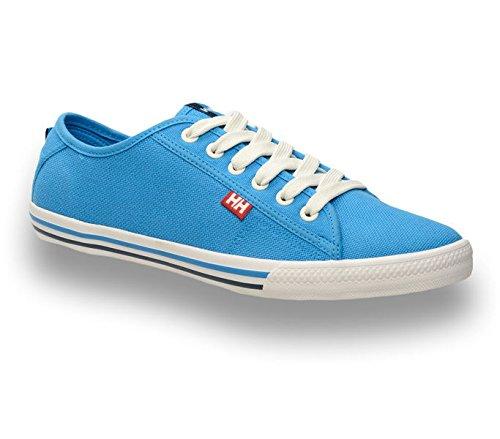 Helly Hansen Fjord Canvas, Hombre Zapatillas de deporte Azul (Blue)