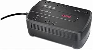 APC Battery Backup & Surge Protector (BE350G) - 350VA 6-outlet Uninterruptible Power Supply (UPS)