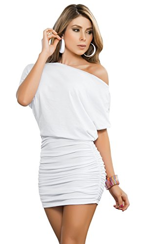 Mapal by AM:PM Women's Off Shoulder Short-Sleeve Sexy Dress