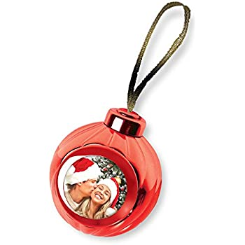 Amazoncom Red Voice Recording Talking Christmas Ornament  Add