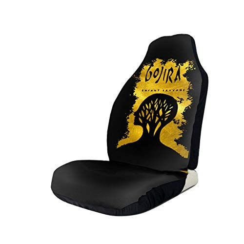 Gojira L'enfant Sauvage Car Seat Covers Protector for Automobile Truck SUV Vehicle