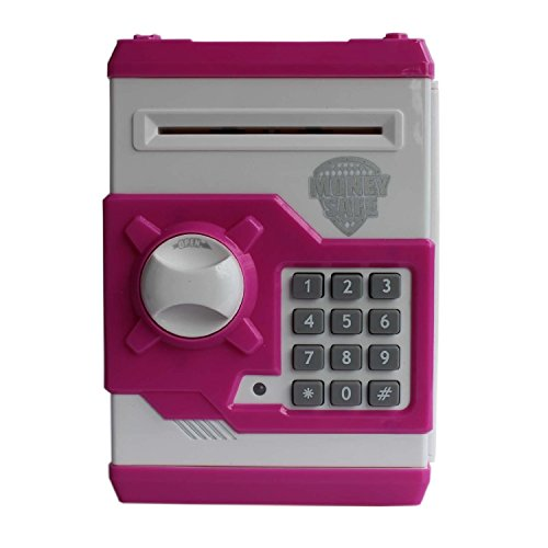 Sunshine Money Safe Kids Piggy Savings Bank with Electronic Lock