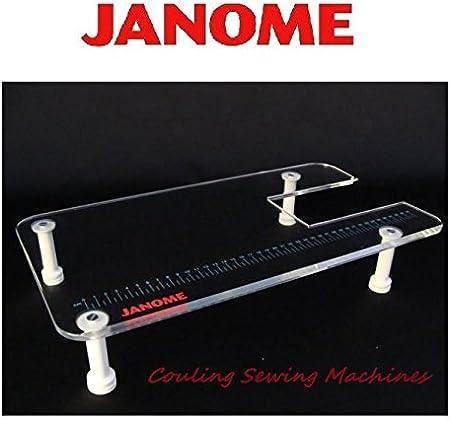 Original JANOME Sew mesa de extensión para máquina de coser cmx30 SL30 X 8077 dc3050: Amazon.es: Hogar