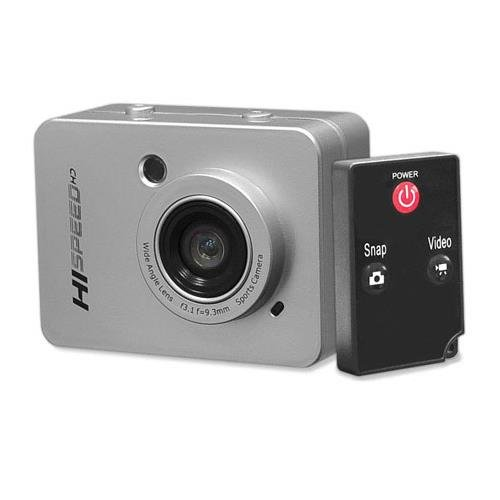 Pyle Hi Speed Sports Action Camera - HD 1080P Mini Camcorder w/ 12 MP Cam, 2.4