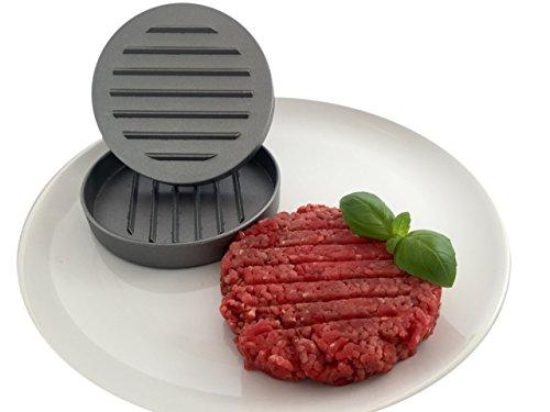 KitchnPro Profi Hamburgerpresse - jedes Mal perfekte Hamburger mit dieser Presse für den Profikoch oder den Hobby Griller