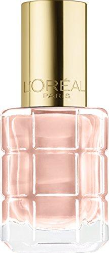 L'Oréal Paris Color Riche Le Vernis Nagellack mit Öl in Nude / Pflegender Farblack in sommerlichem Hellrosa mit Glanz-Effekt /# 116 Café de Nuit / 1 x 14ml