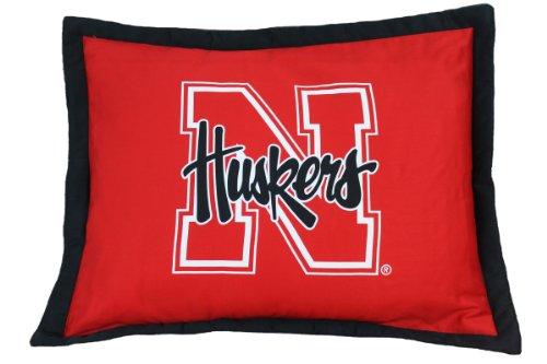 Nebraska Cornhuskers Throw Pillow - College Covers NCAA Nebraska Cornhuskers Licensed Throw Pillow or Decorative Pillow, 20