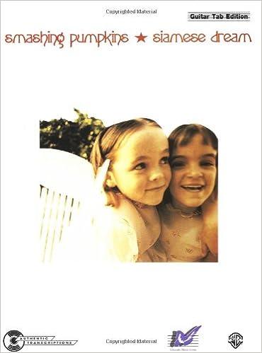 Amazon Smashing Pumpkins Siamese Dream Songbook Guitartab
