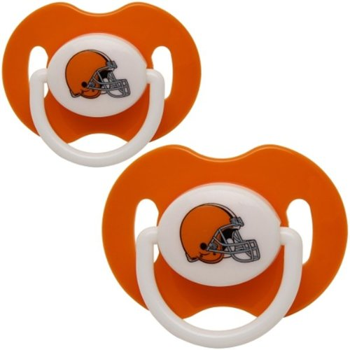 Cleveland Browns Infant 2-pack Pacifiers - Orange