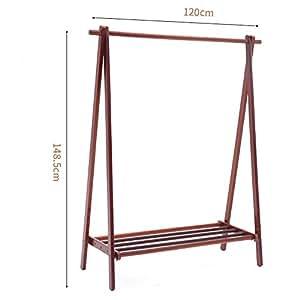 Amazon.com: YX Xuan Yuan - Perchero de madera para ropa ...