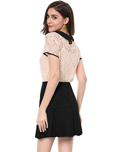 Voir Pink Peter Top K Collar Travers Contre Allegra Allegra Pan Dame Dentelle K U05qnRRw67