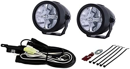 piaa motorcycle lights wiring diagram amazon com piaa 02772 lp270 2 75  led driving light kit  sae  amazon com piaa 02772 lp270 2 75  led