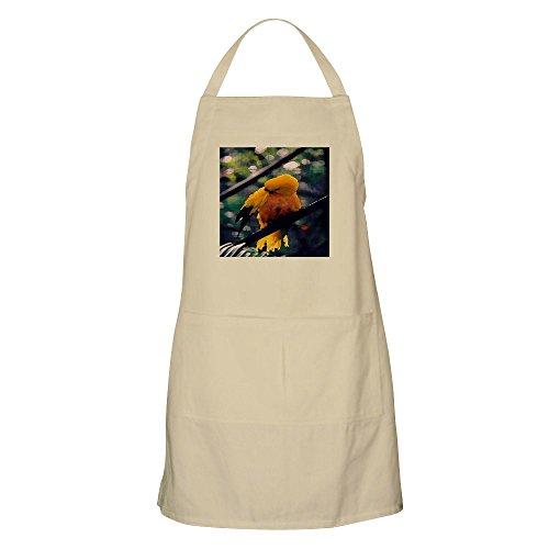 CafePress Golden Conure BBQ Apron Kitchen Apron with Pockets, Grilling Apron, Baking Apron