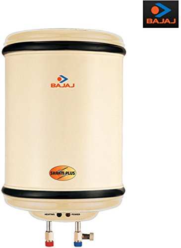 Bajaj Shakti Plus 10-Litre 3000-Watt Storage Water Heater (Ivory)