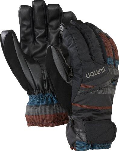 (Burton Gore Under Snowboard Glove 2014, True Black Leeds Stripe, XL)