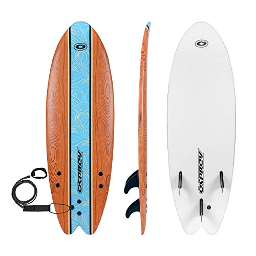 Osprey Soft Beginners Foamie Surfboard Complete with Leash and Fins 07cac5baf
