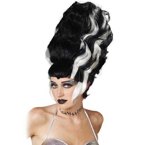 Bride of Frankenstein Wig Costume Accessory]()
