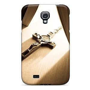 For Galaxy S4 Fashion Design Cross Case