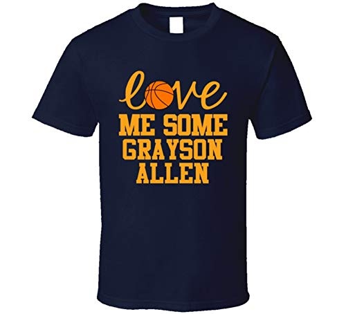 Grayson Allen Love Me Some Utah Basketball Fan T Shirt L Navy