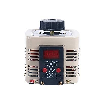 YaeCCC Variable Digital Voltage Regulator Transformer Power Supplies 0-250V 2A 500W AC