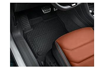 All Weather Rubber Floor Mats 2007-2016 Volkswagen VW Tiguan Black 4 Pc