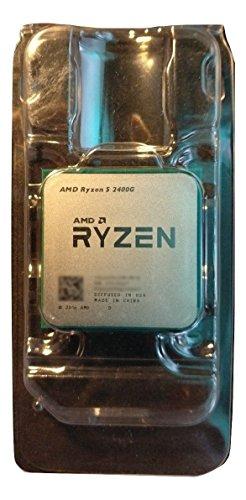 AMD YD2400C5M4MFB AM4 Ryzen5 2400G 65W Tray Brown Box