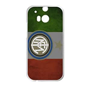 Popular And Durable Designed TPU Case With Italian flag_002 For HTC One M8 Cell Phone White Cover