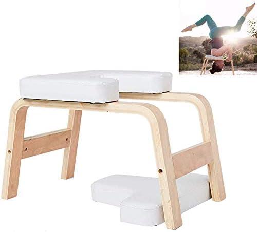 ヨガ反転椅子倒立ベンチ、多機能ヨガエイズワークアウトスツール反転トレーニングスポーツエクササイズベンチ、ベアリング重量200kg